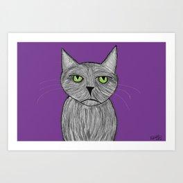 Spaz Art Print