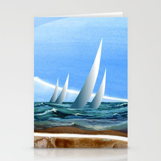 The Geology of Boating Stationery Cards