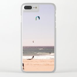 Wind colors Clear iPhone Case