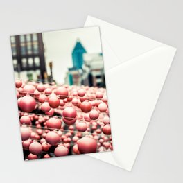 Pink In The Village Stationery Cards