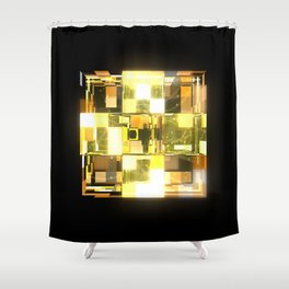 My Cubed Mind: Frame 019 Shower Curtain