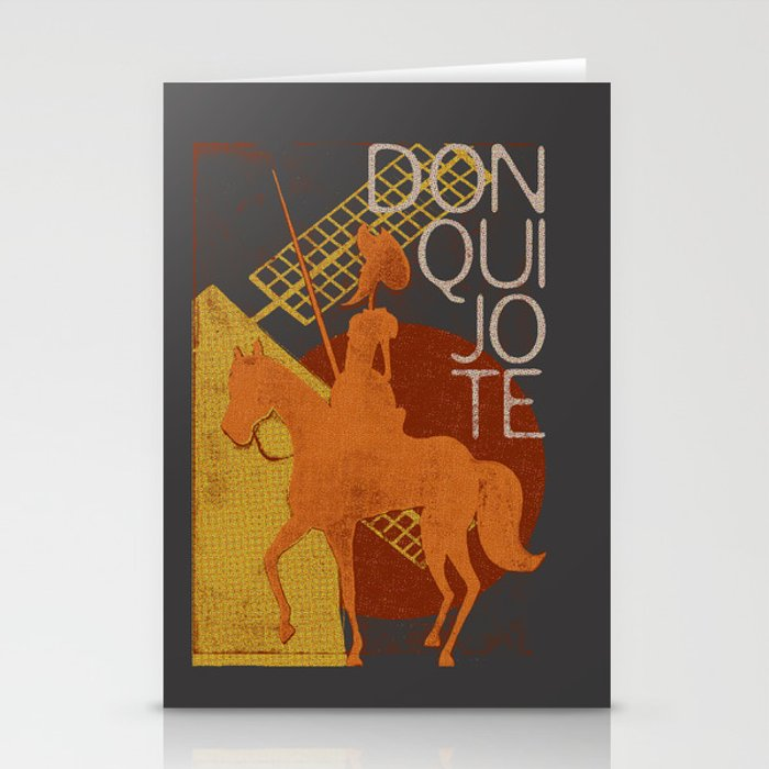 Books Collection: Don Quixote Stationery Cards