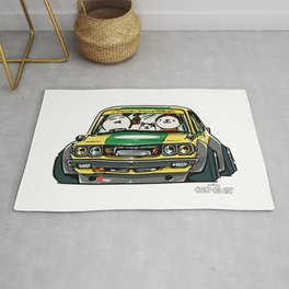 Crazy Car Art 0150 Rug