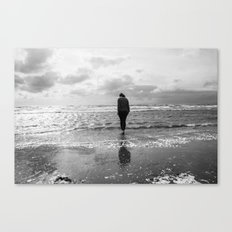 Troon Seafront Canvas Print