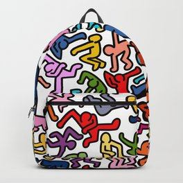 Homage to Keith Haring Color Backpack