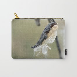 Soft Milkweed Carry-All Pouch
