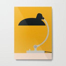 Bauhaus Table Lamp Kaiser Metal Print