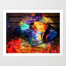 Life In Colors Art Print