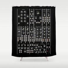 Modular Man Shower Curtain