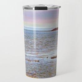 Sunset At The Beach - Tod's Point Travel Mug