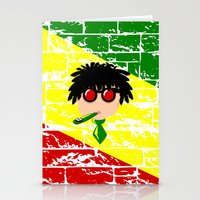 reggae Stationery Cards featuring Reggae Kazoo by mailboxdisco