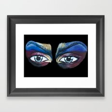 See What We Are Framed Art Print