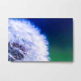 Cool Close-Up of a Beautiful Weed Metal Print