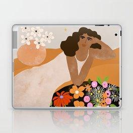 Flower Picnic Laptop & iPad Skin