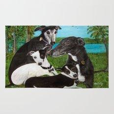 Greyhounds Rug
