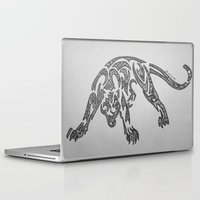 courage Laptop & iPad Skins featuring Courage by Larissa