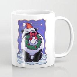 Panda Bear Christmas Coffee Mug