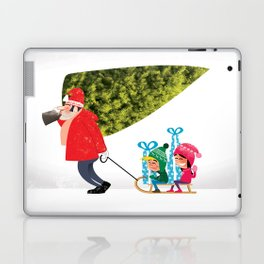 Buying the Christmas Tree Laptop & iPad Skin