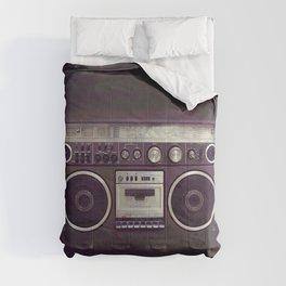 Retro Boombox Comforters