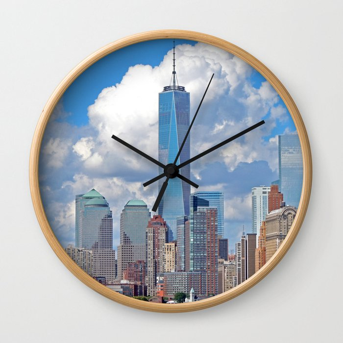 Riding the Staten Island Ferry Wall Clock