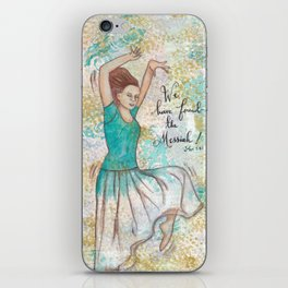 Messiah by patsy paterno iPhone Skin