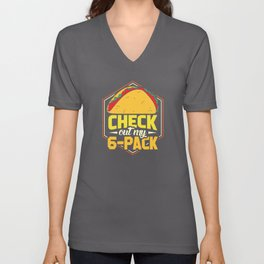 Check out my 6 Pack Unisex V-Neck