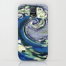 Batik waves 2 Slim Case Galaxy S5