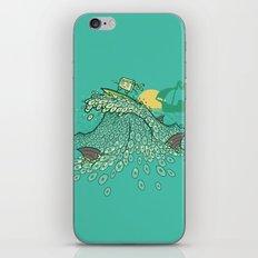 Surfin' Soundwaves iPhone & iPod Skin