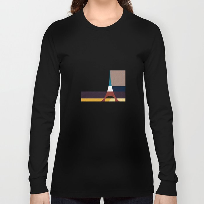 Paris, Eiffel Tower Long Sleeve T-shirt