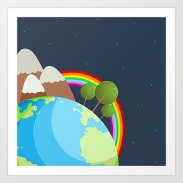 Night On Earth Art Print