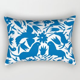 otomi blue Rectangular Pillow