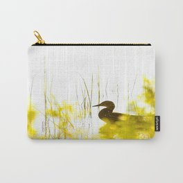 Bird by the lake #decor #society6 #buyart Carry-All Pouch