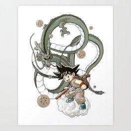dragonboy Art Print