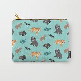 Asian Jungle Animals Pattern Carry-All Pouch