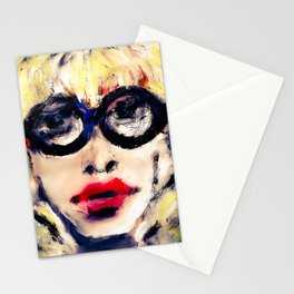Geek Girl Stationery Cards