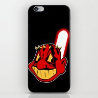cleveland iPhone & iPod Skins featuring Cleveland Sithians by Ant Atomic
