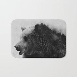 Big Bear #4 Bath Mat