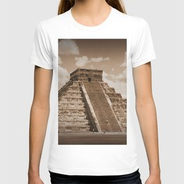 Chichen Itza Sepia T-shirt