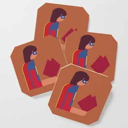 Ms Lady Reads Coaster