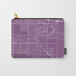 Oxnard Map, USA - Purple Carry-All Pouch