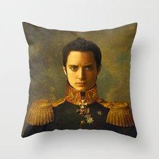 Elijah Wood - replaceface Throw Pillow