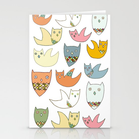 Owlz Stationery Cards