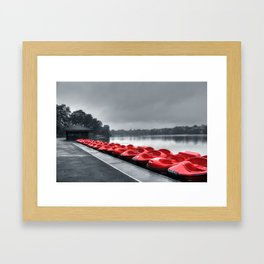 Boat Hire Framed Art Print
