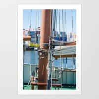 boat Art Prints featuring Boat by Sébastien BOUVIER