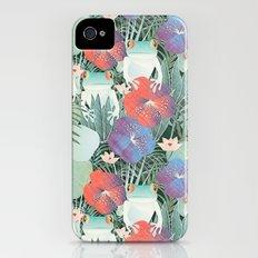 frog garden iPhone (4, 4s) Slim Case