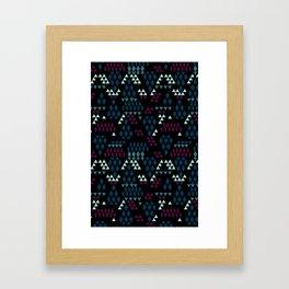 Geometric Mix Framed Art Print