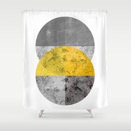 Geometric Composition 6 Shower Curtain