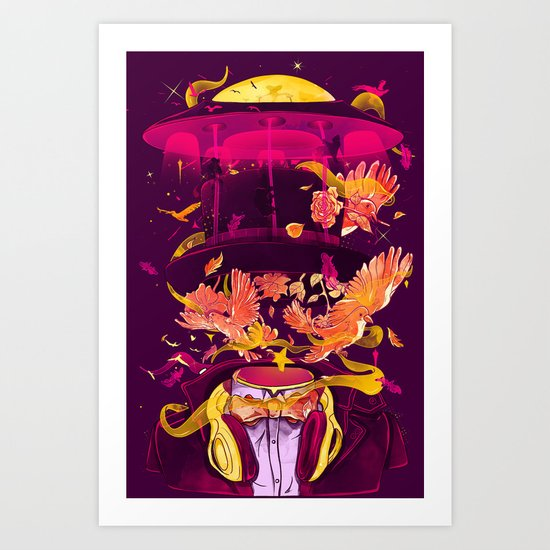 Magic Tricks Art Print