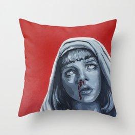 The Mia Madonna Throw Pillow
