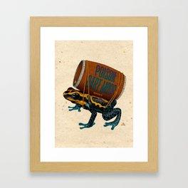 Poison Dart Moore Framed Art Print